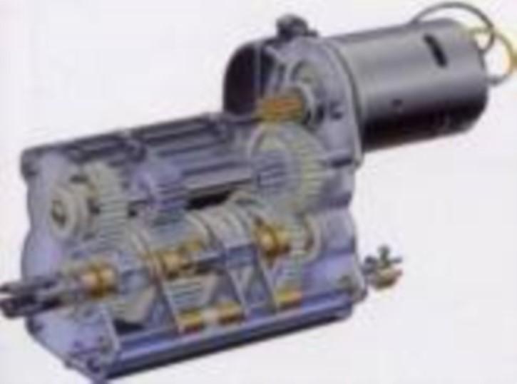 Tamiya-3-Gang-Schaltgetriebe aus Originalteilen