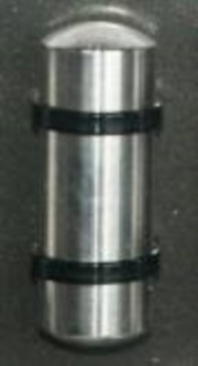 Druckluftkessel aus Alu, 18 mm rund x 50 mm lang
