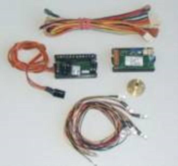 IR-Set mit Königsbolzen für Tamiya-MFC01/03 und Tamiya Auflieger