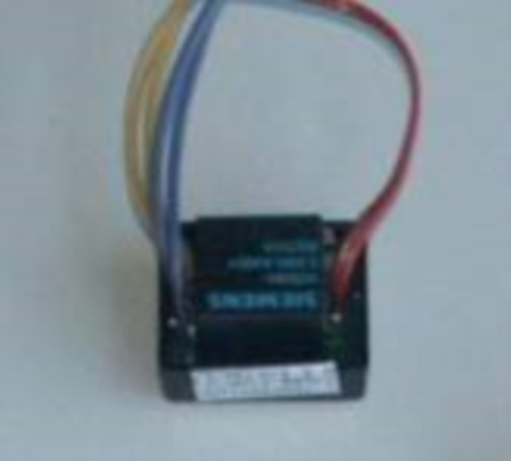 Relaisplatine für TXE, Motorumpolung mit 3 Kabeln, 2 Eingänge