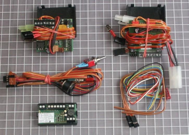 IR-Set TXE Universal für Lichtanlagen, komplett, für 7,2 V-Rückleuchten
