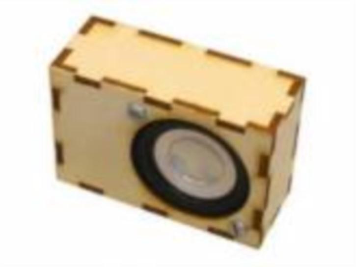 Boxen-Bausatz aus Sperrholz für Laut45