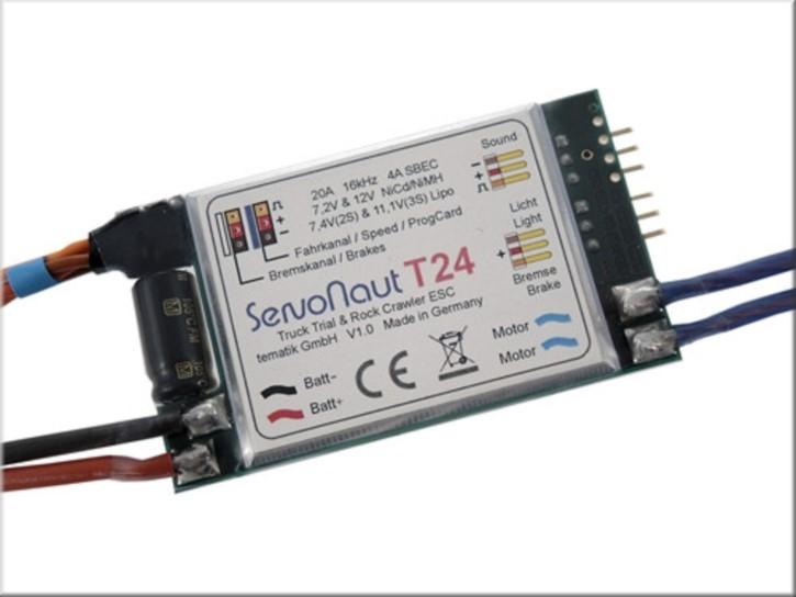 Servonaut T24 Spezial-Fahrtregler für Trial und Crawler 20A