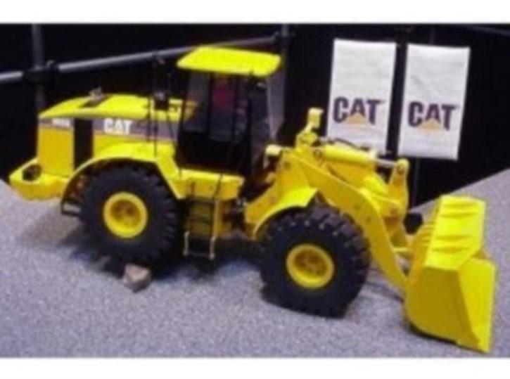 Caterpillar Radlader 966 G Serie II, komplett