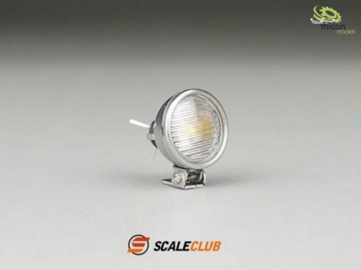 Scheinwerfer 13mm V2A mit LED 1 Stück ScaleClub
