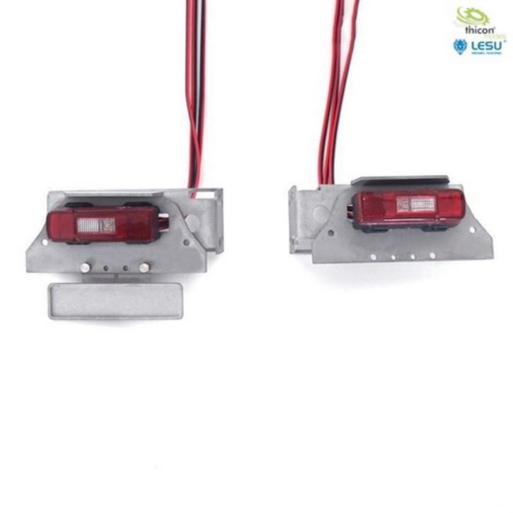 Rückleuchten für VOLVO mit LED und Halter v2