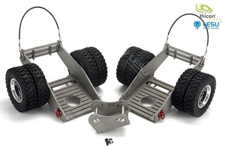 Baggerwagen-Set für 74t-Bagger 58100