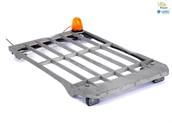 Steinschlagschutz mit LED für 36t-Bagger