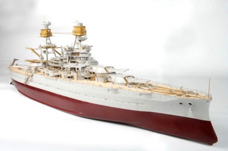 Detail-Komplettset Zubehör mit Holzdeck für USS Ar