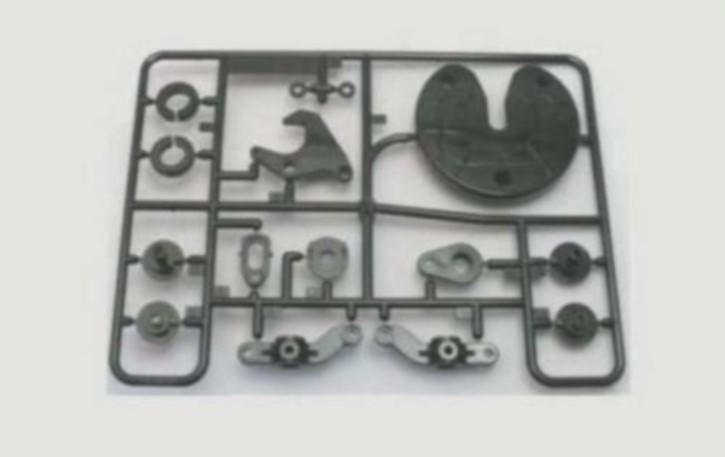 E-Parts Sattelplatte und Verriegelung