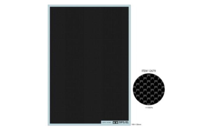 Carbon Dekor glatt/ fein  190x130mm