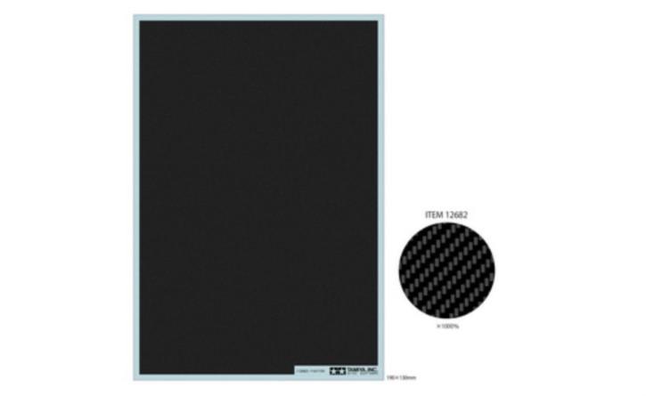 Carbon Dekor Köper/extra fein  190x130mm