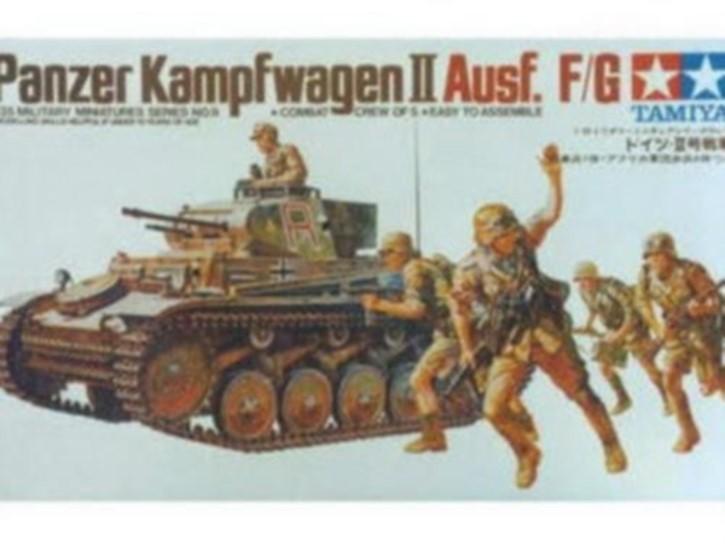 SdKfz.121 Panzer II, Ausf. F/G