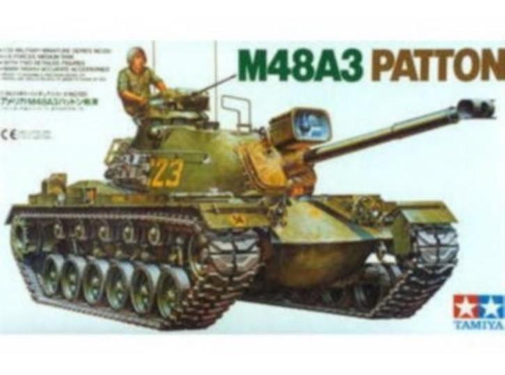 US M 48 Patton Tank