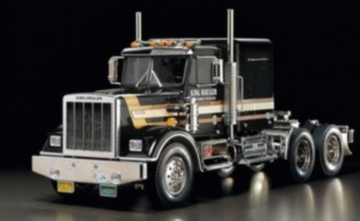 King Hauler Black Edition, metallic-schwarz