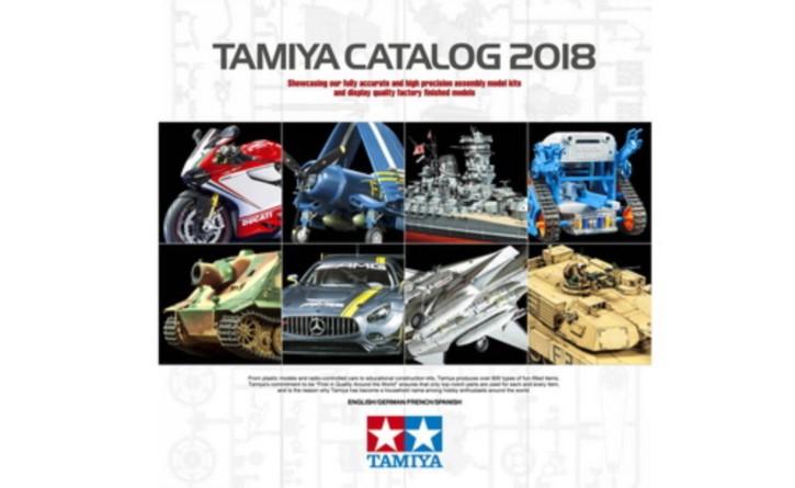 Tamiya Plastik-Katalog 2018