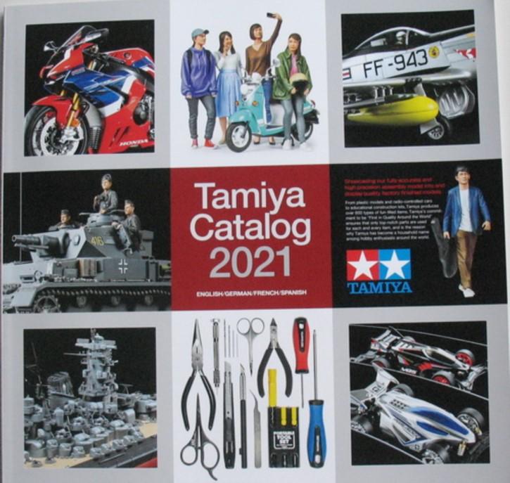 Tamiya Plastik-Katalog 2021