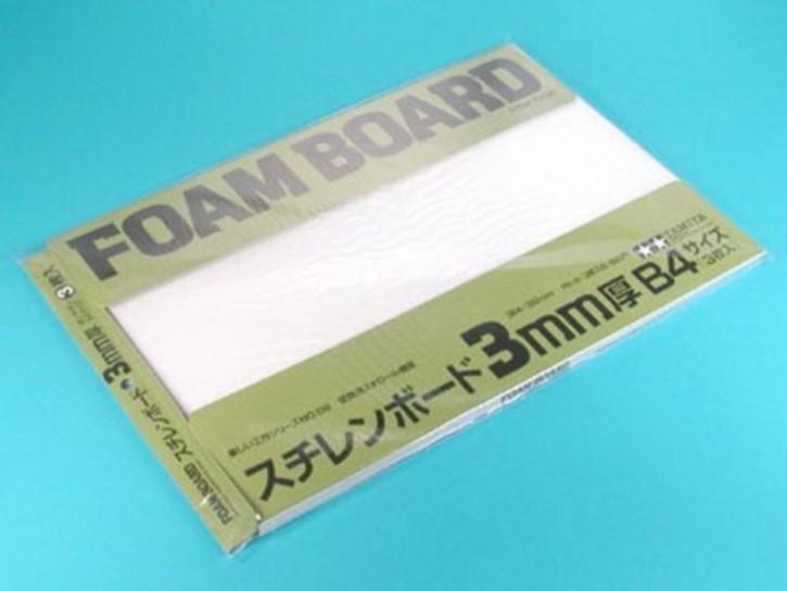 Schaumstoffplatte 3mm (3) 257x364mm