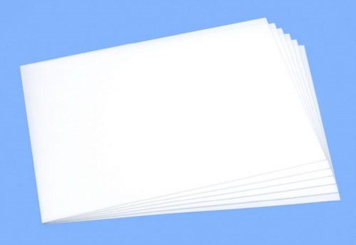 Schaumstoffplatte 1mm (6) 257x364mm