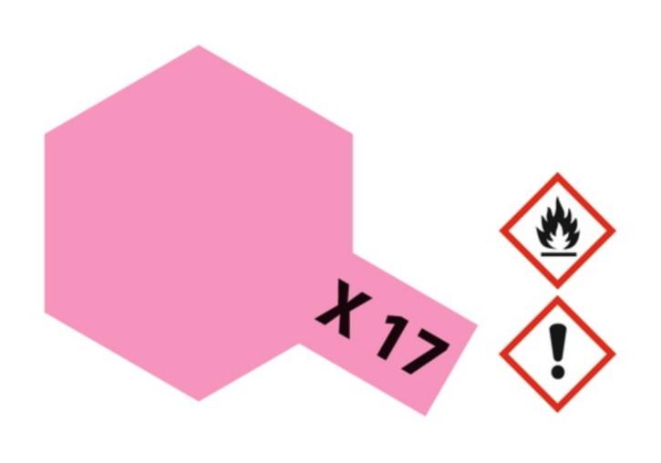 Acryl-Farbe X17 rosa, glänzend 23 ml