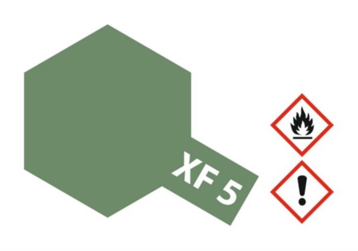 Acryl-Farbe XF5 grün, matt 23 ml