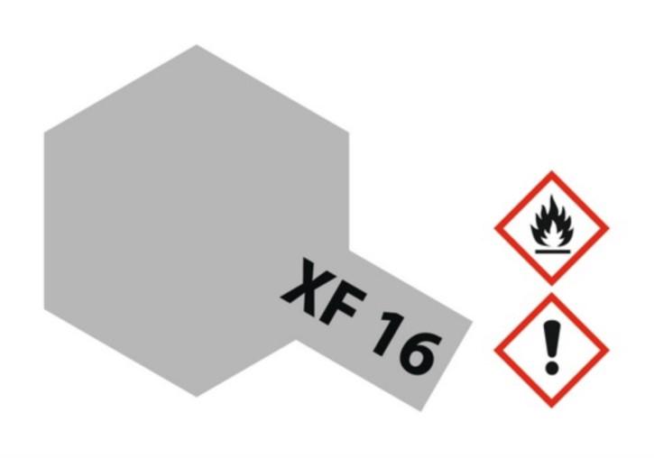 Acryl-Farbe XF16 matt-aluminium, metallic 23 ml