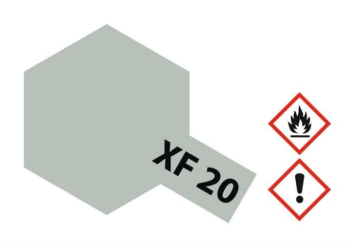 Acryl-Farbe XF20 mittel-grau, matt 23 ml