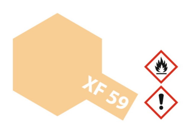 Acryl-Farbe XF59 wüsten-gelb, matt 23 ml