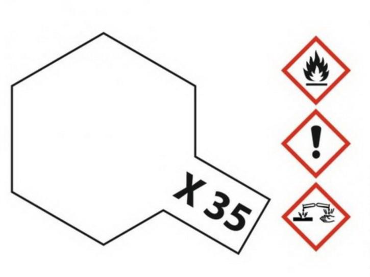 Acryl-Farbe X-35 Klarlack seidenmatt 10 ml