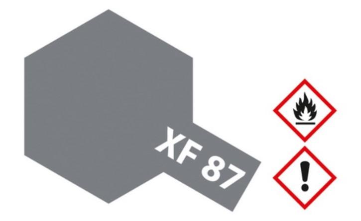 Acryl-Farbe XF-87 IJN grau matt 10 ml