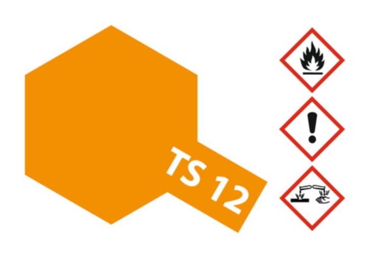 Acryl-Spray-Farbe TS 12 orange 100 ml