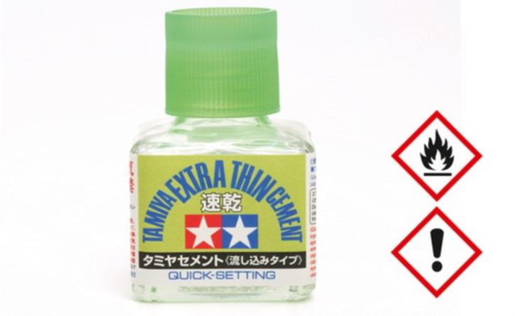 Plastikkleber Quick extradünn 40 ml