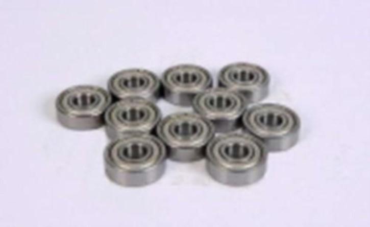 Kugellager außen 12 mm, innen 6 mm, 4 mm hoch