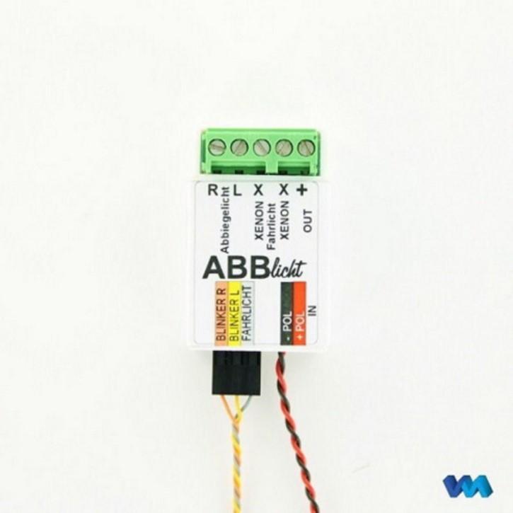 LED-Steuerplatine für Abbiegelicht und Xenonlicht, 7,2V, Einzelstück