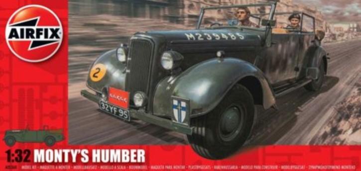 Monty`s Humber Snipe Staff Car