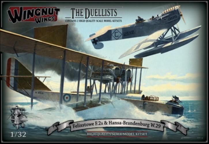 The Duellist: Felixstowe F.2a und Hansa Brandenburg W.29, Topmodell, lim.