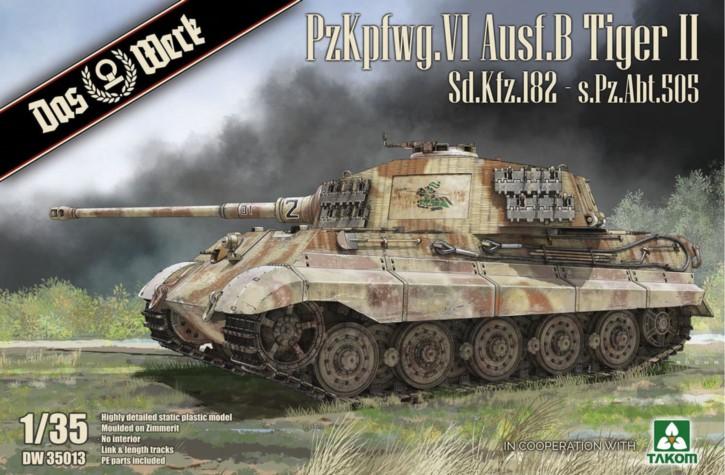 Pz.Kpfw.VI Ausf.B Tiger II Sd.Kfz.182 - s.Pz.Abt.5