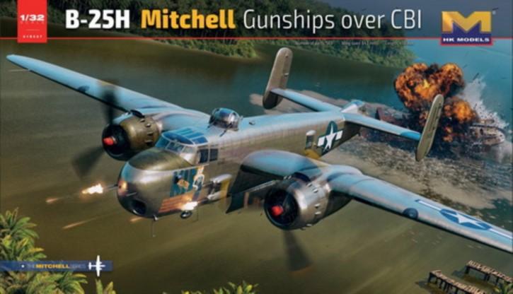 North American B-25H Mitchell Gunships over CBI