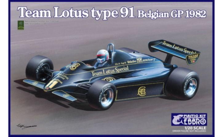 Team Lotus Type 91 Belgian GP 1982