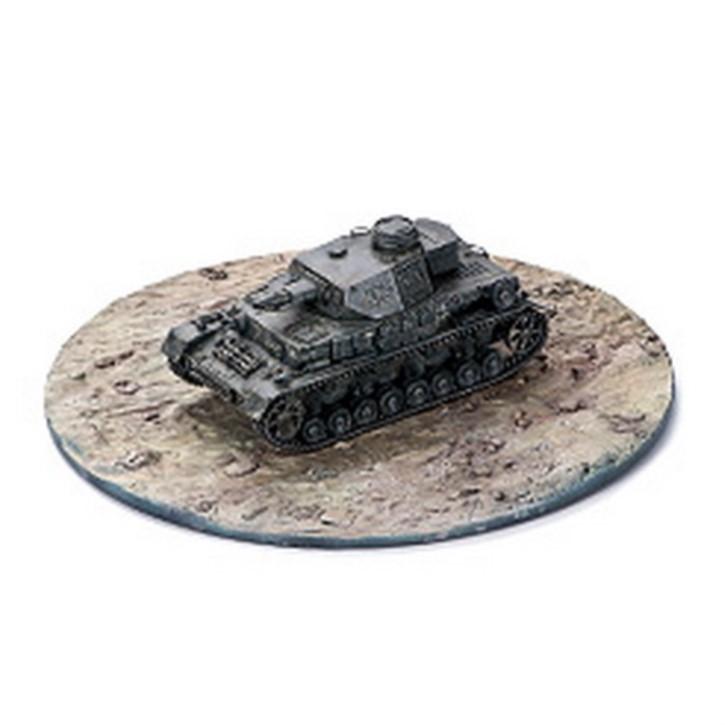 Dioramen-Platte Panzer Field Ground Attack