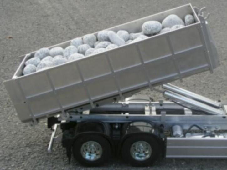 Abrollaufbau für Wedico-Fahrgestelle