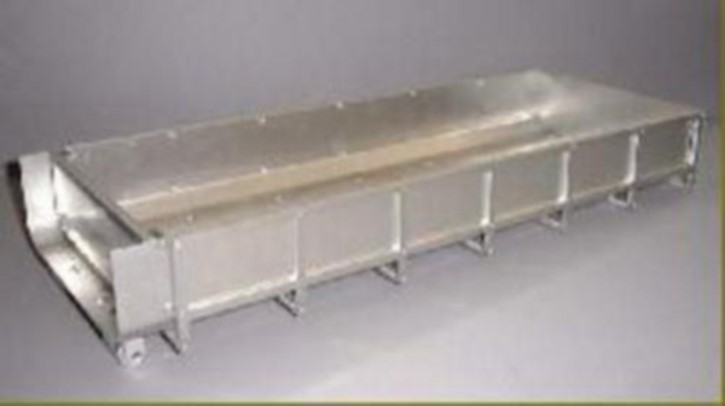 Flacher Container-Bausatz zu Abrollaufbau