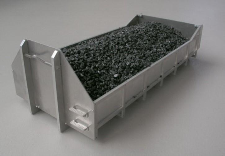 Flacher Container-Bausatz zu Tamiya-Abrollaufbau mit Erhöhung