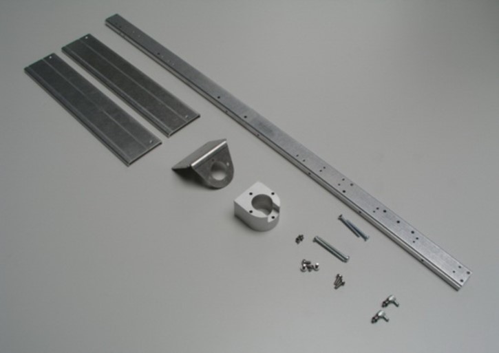 Rahmen für Tamiya-Abrollkipper+Kran, 3-Achs