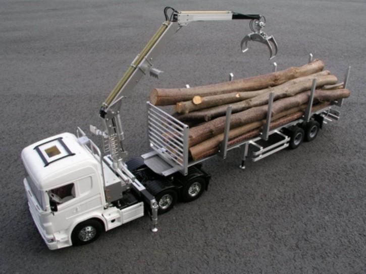 Bausatz Langholzladekran für Tamiya-Fahrzeuge mit 7,2V Pumpe