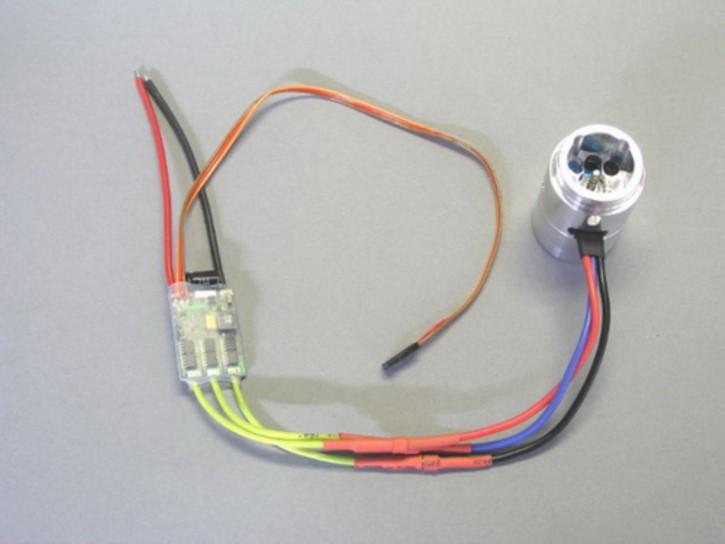 Brushlessmotor für Pumpe mit Regler 7,2 V