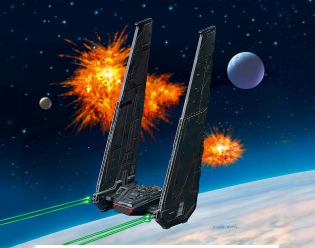 Kylo Ren´s Command Shuttle, Episode VII