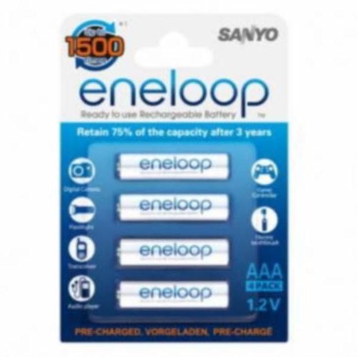 Panasonic eneloop-Akku, 4er Micro AAA