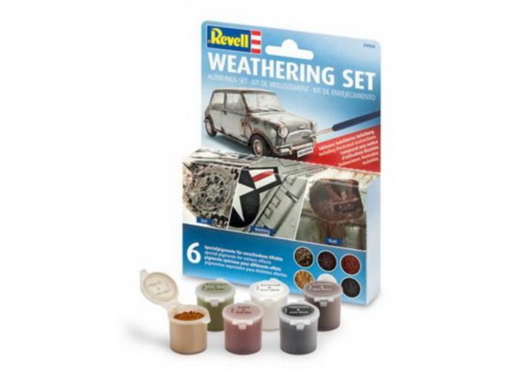 Weathering Set mit 6 Pigmenten, je 5 gr