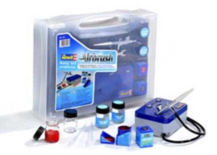 Airbrush-Set Basic-Set mit Kompressor